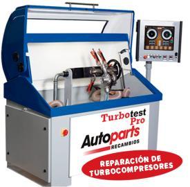 Reparación de turbo compresores